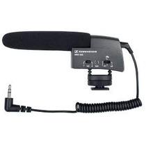 Sennheiser Microfone Shotgun Mke400 Câmeras De Vídeo