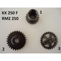 Engrenagem Motor Kxf Kx 250f Virabrequim Primaria Balanceiro