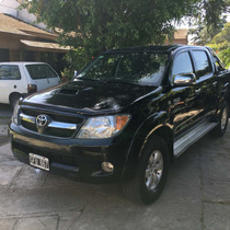 Toyota Hilux Srv 4x4 85000km Reales Unico Dueño La Mejor