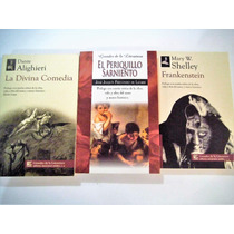 Pkt 3 Divina Comedia Frankenstein Periquillo Sarniento
