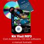 Digitalizador De Discos De Vinil Lp Bolachão Em Mp3 Ou Cd