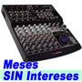 Mixer Audiobahn Pasiva Con 8 Ch Independientes Usb Mp3 Xaris
