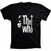Camiseta The Who Camisa Rocks Bandas Metal Top Bonita Barata