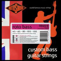 Encordoamento Baixo 045 5 Cordas Rotosound Rb45-5 Roto Bass