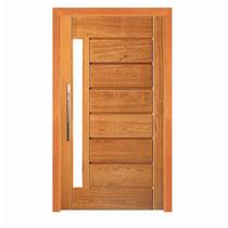 Porta Pivotante 214 Madeira Maciça - 2,10m X 1,20m Angelim