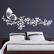 Adesivo Decorativo De Parede Floral