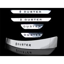 Kit Soleira Duster Porta Malas E Portas Aço Inox Acessórios