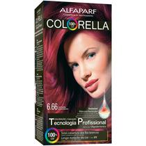 Alfaparf Colorella Coloração 6.66 - Vermelho Superintenso