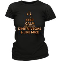 Remera Dimitri Vegas & Like Mike Fluo Creamfields 2014