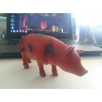 Bonecos Miniatura Fazenda Porco Adulto