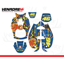 Calcomanias, Stickers Yamaha Bws 5 Continentes 100 Y 125