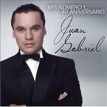 Cd Juan Gabriel Mis Número 1...40 Aniversario