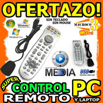 Wow Control Remoto Para Pc Y Laptop Usb Multimedia Unicos