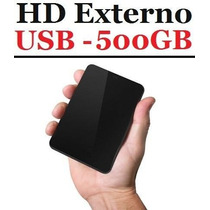 Hd Externo Seagate Backup Plus Slim De 500gb Usb3.0 / 2.0