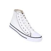 Zapatillas Levis Mujer Goiti Blanco Negro Todos Los Talles