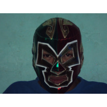 Mascara De Luchador Dr Wagner Jr Tricolor Mexicana P/adulto