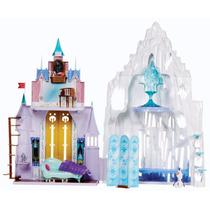 Castillo De Frozen 2 En 1 Elsa Y Anna Palacio De Hielo