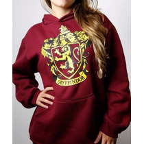 Moletom Harry Potter Blusa Gryffindor Grifinoria Cinema Geek