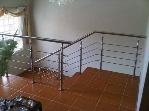 escaleras barandas posamanos acero inoxidable cristal bs en mercado libre with escaleras de acero inoxidable y cristal