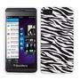 Estuche Suave Goma Zebra Para Blackberry Z10