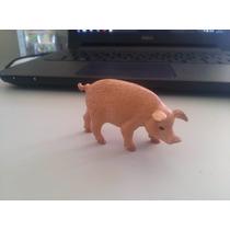 Bonecos Miniatura Fazenda Porco Filhote