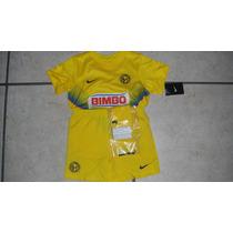 Kit Nike Aguilas Del America 2013-2014 Local De Niño Oferta