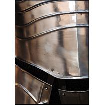 Armadura Medieval Articulada Em Aço Funcional Tamanho Médio
