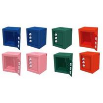 Cofre Minibox Feito De Chapa Promoção Segurança