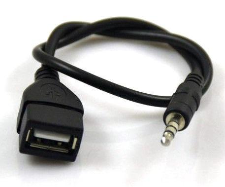 Cable Usb Hembra A Plug 3 5mm Macho 4 Contactos Lea Bien