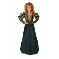 Disfraz Merida Valiente Princesas Disney Para Niñas Y Bebes