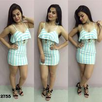 Vestido Moda Balada Mini Justo P M Pronta Entrega 11