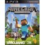 Minecraft Ps3 Digital - Entrega En El Dia! Sasito