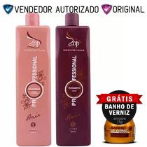 Escova Progressiva Zap Professional + Brinde Shopdoscabelos