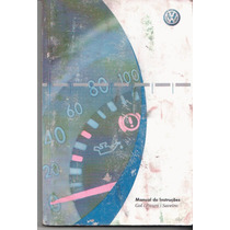 Manual Proprietário Gol Parati Saveiro 2007 G4 Original