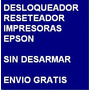 Desbloqueador Reset Impresora Epson Tx100 - Envio Gratis