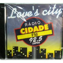 Dance Funk Disco Pop Cd Love`s City Radio Cidade Fm Lacrado
