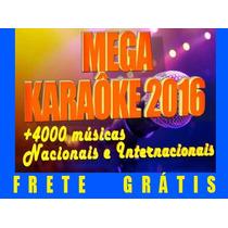 Mega Karaoke 2016 - 10.000 Sucessos Nacionais Internacionais