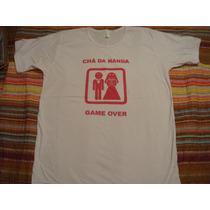 Blusa Camiseta Camisa Branca Cha Da Nanda Basica Tam. M