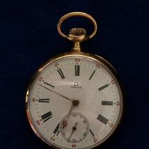 Relógio De Bolso Omega Ouro 18k - Colecionador