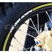 Friso Adesivo Refletivo Tuning Roda Rec03 Moto Honda Xre 300