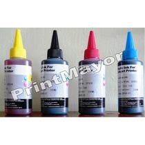 Pack 4 Tintas Hp Recarga Cartuchos Sistemas Para Impresoras