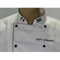 Doma De Chef, Com Bordados Gastronomia, Cozinheiro