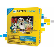 Kit Directv Prepago Antena 0,60 Mts Gtía 6 Meses Sm