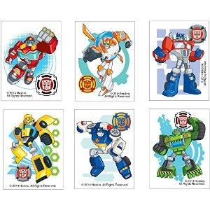 Transformers Rescue Bots Tatuajes Temporales Cumplea 241 Os
