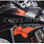 Faixa Adesivo Refletivo Cromado Moto Honda Xre 300 2013 2014
