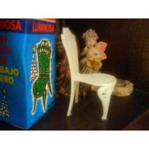 Antigua Sillita Samurai-c/caja Orig.para La Suerte Plast9 Cm