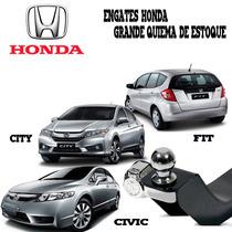 Engate De Reboque Linha Honda New Civic - Fit - City