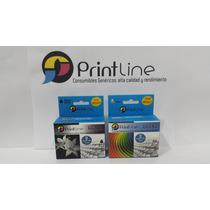 Combo Cartuchos 662 Genericos Printline Xl 18ml Original 2ml