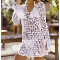 Tejidos Artesanales A Crochet: Vestido Túnica Para La Playa!