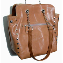 Cartera De Cuero, Shopping Bag Diseño Único!